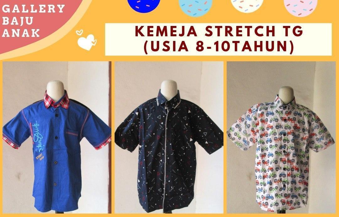 Distributor Kemeja Stretch Tanggung di Bandung Rp 30.000