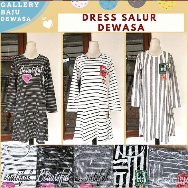 Pabrik Dress Salur Dewasa di Bandung Rp 24,000