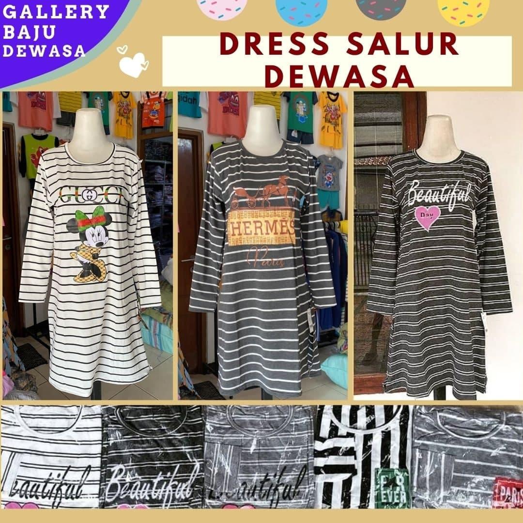 Grosir Dress Salur Dewasa di Bandung 24,000