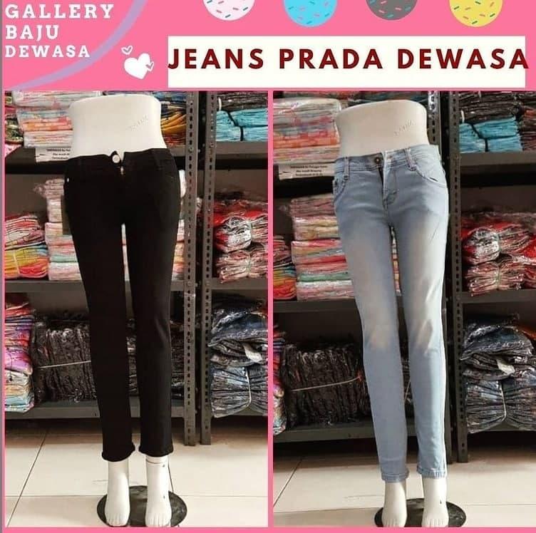 Grosir Jeans Prada Dewasa di Bandung Rp 56000