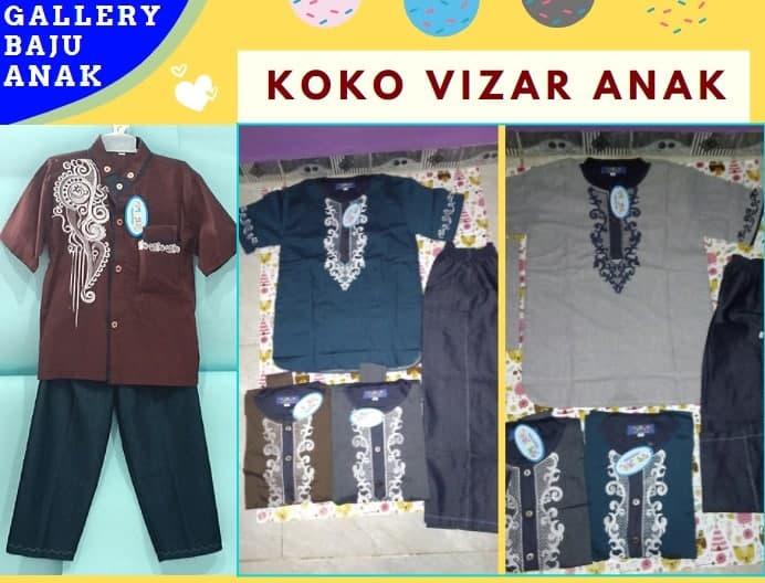 Produsen Koko Vizar Anak di Bandung Rp 67000