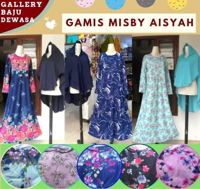 Produsen Gamis Misby Aisyah di Bandung Rp 66000