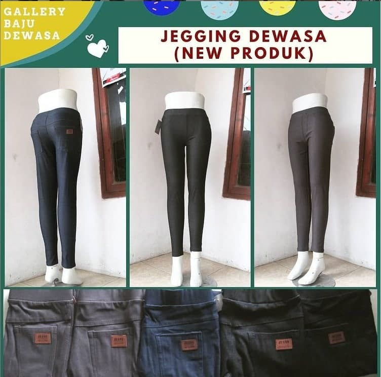 Produsen Jegging Dewasa di Bandung Rp 38000