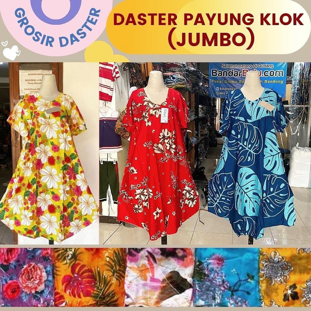 Distributor Daster Payung Klok (Jumbo) Rp. 36.500